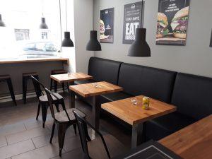 Burger cafe i Hillerød